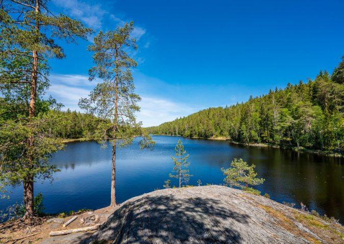 Supre bademuligheter i Eriksvann