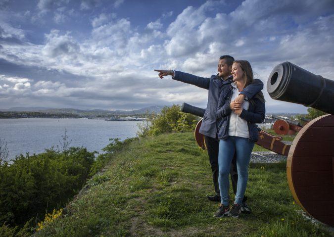 Bading og rik historie på Hovedøya
