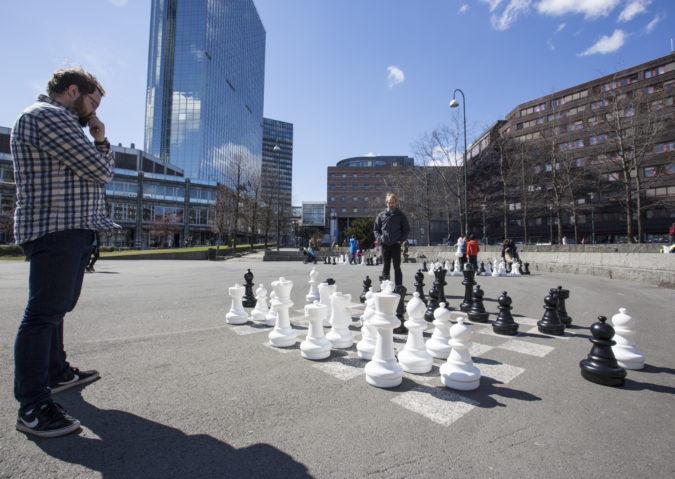 Sjakk i Vaterlandsparken