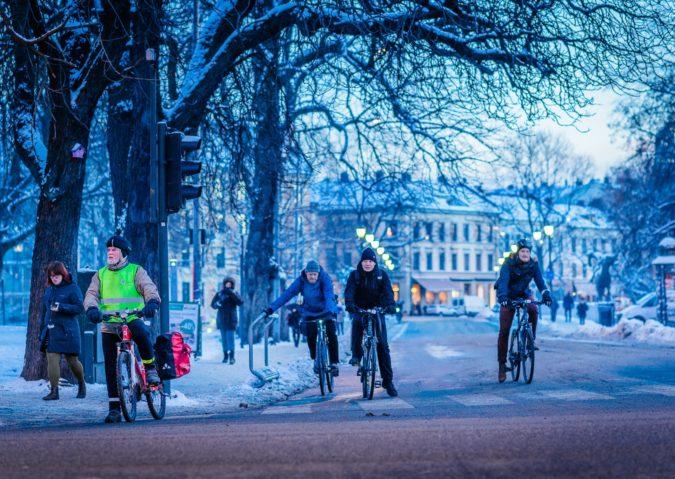 Sykler i Torggata