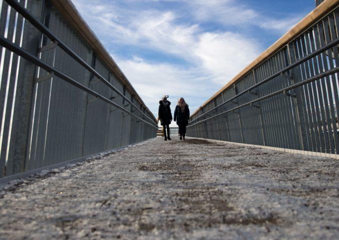 På tur i Stovnertårnet
