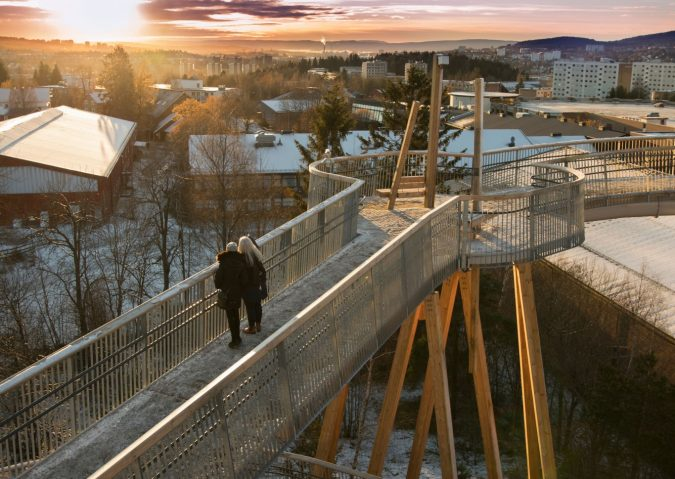 Utsikt fra Stovnertårnet