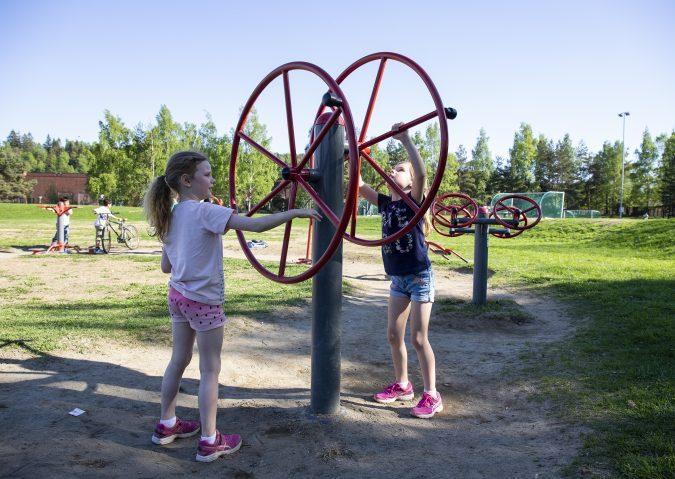 Fantasien setter ingen grenser i Furuset aktivitetspark