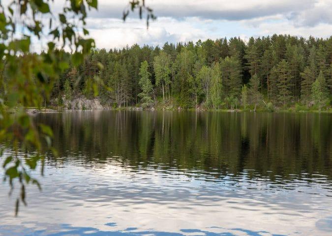 Ulsrudvann i Østmarka