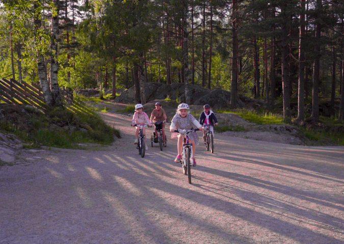 Sykkeltur i Østmarka