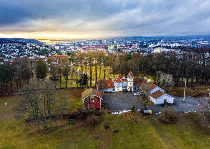 Nordre Skøyen hovedgård – en vakker og bortgjemt park