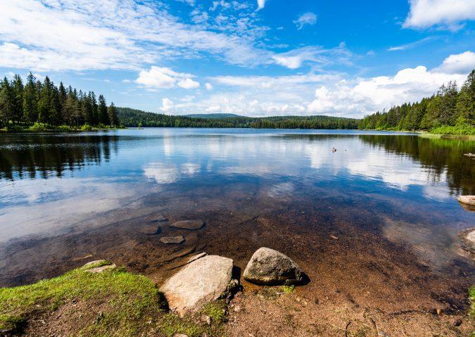 Bading og friluftsliv på Øyungen