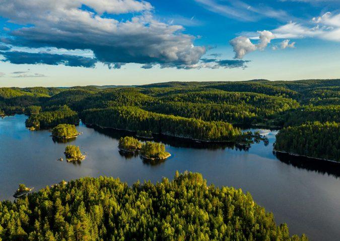 Rausjømarka, kommuneskogen utenfor kommunens grenser